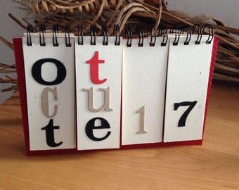 Perpetual calendar Office