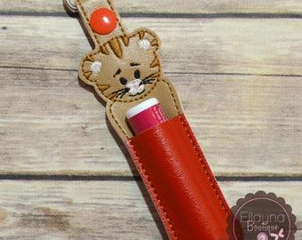 Lip Balm, Chapstick, Flash Drive, USB Drive Holder - Daniel Tiger inspired