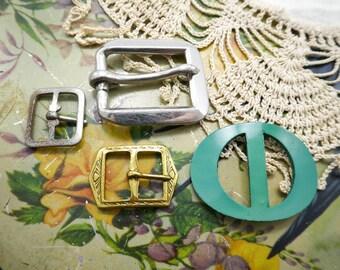 Vintage Buckles, Craft, Wear