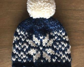 Nordic Snowflake Toque