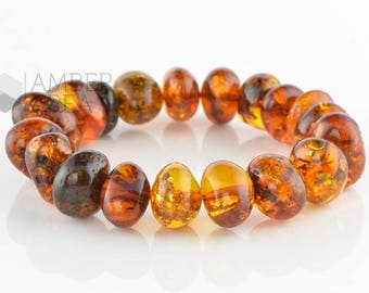Baltic Amber Bracelet Adults // 7265