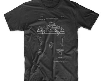 Sports Car Patent T Shirt, Classic Car, Sports Car, Teen Shirt, Car Shirt, PP0698