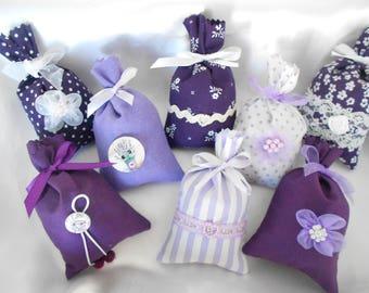 Provence Collection purple spirit Provence Lavender sachet (Ref: 31/17)