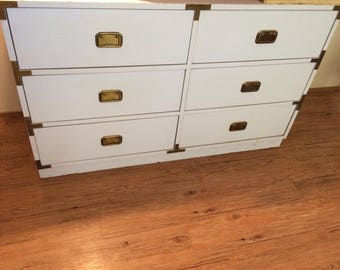 Fully customized 6 drawer buffet credenza dresser