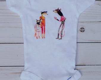 Fantastic Mr. Fox Unisex Baby Onesie