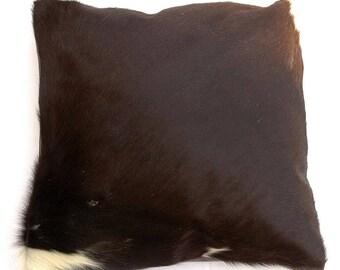 Natural Cowhide Luxurious Hair On Cushion/ Pillow Cover (15''x 15'') A101