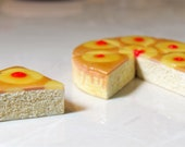 Food For American Girl Dolls - Pineapple Upside Down Cake - Six Slices