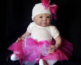 CHRISTMAS IN JULY Aubrey by Denise Pratt Custom Reborn Doll Little Darlins Nursery Rita Meese