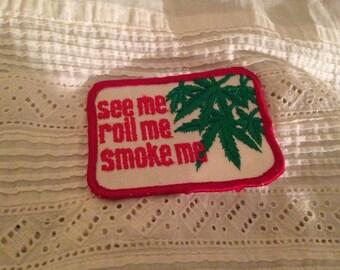 "Vintage ""Smoke"" Patch"