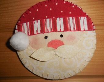 The Rosy Cheeked Santa Ornament