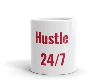 coffee cup - coffee mug- hustle mug- hustle coffee cup- hustle- funny coffee mug- hustle coffee mug- coffee- hustle hard- mom hustle