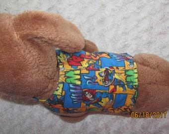 Custom Boutique Superman Dog or Cat Harness Xxxxs, Xxxs, XXS, XS, Small or Medium