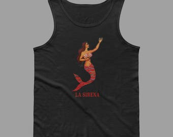 La Sirena Men's Loteria Tank Top
