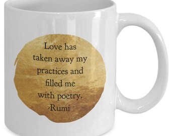 Love and poetry - who but Rumi can say it so clearly?
