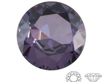 Round Shape Imitation Amethyst Faceted Gemstone Sized 16 mm WA 90-184