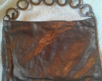 Reserved - Whiting and Davis Matte Mesh Purse