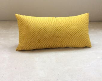 Cushion fabric yellow Jean Paul Gaultier