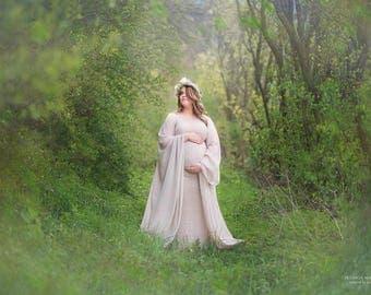 Campanula Dress l Maternity Gown l Photoshoot