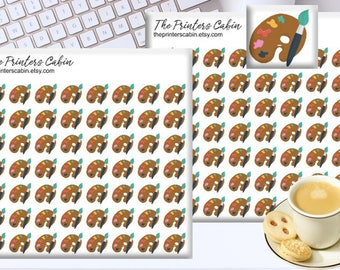 Planner Stickers / Paint Palette Stickers / ECLP Stickers / Erin Condren Stickers / Functional Planner Stickers