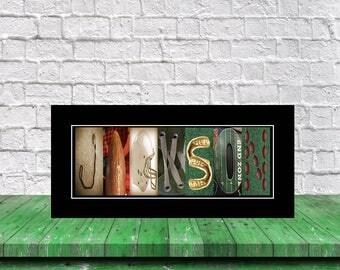 Football Letter Art Gift, Football Print, Custom Name Art, Football Wall Art, Custom Letter Art, Football Room Decor, Football Player Gift,
