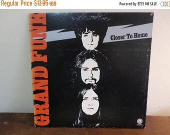Save 30% Today Vintage 1971 Vinyl LP Record Grand Funk Closer To Home Excellent Condition 15059