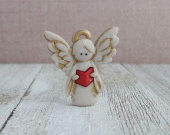 Angel - Angel Singing - Remembrance - In Memory Of - Protect - Guardian - Lapel Pin