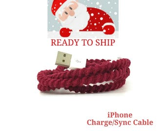 RTS iPhone Lightning Charger Cable, iPhone EarPods, iPhone EarPods plus Lightning Cable Gift Set You Choose - GEMMA by Missy and Joy