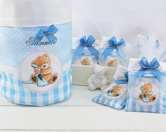 confetted bag for birth and baptism