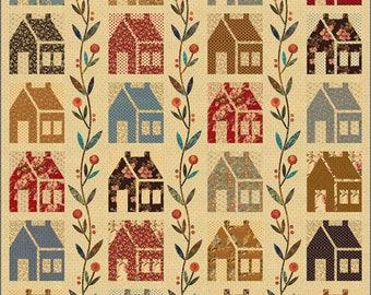 Homestead Applique Quilt Pattern - Edyta Sitar - Laundry Basket Quilts - LBQ 0445-P