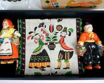 Vintage Dutch Decor Collection - 1940s