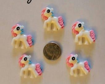 Pony resin flatbacks