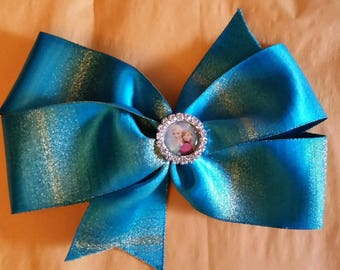 CLEARANCE -Elsa and Anna, Frozen Hairbow - u choose