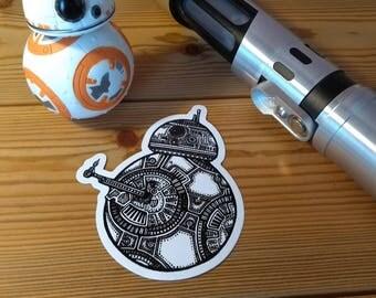BB8 Sticker