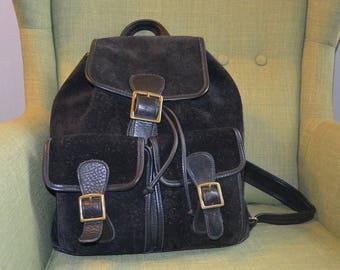 Vintage Coach Berkeley Backpack in Black