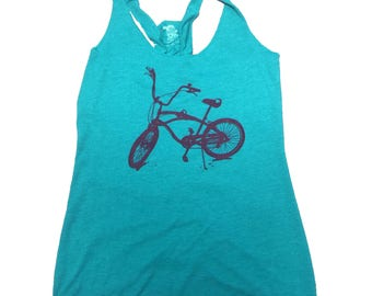 Bike Tank with Braided Back - by Kiss a Cow