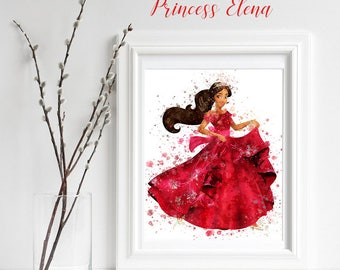 Princess Elena Room Etsy