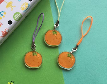 Phone Charms   Fruit   Orange