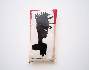 Valentine's day art Basquiat home decoration urban art creative graffiti dreadlock art gift unisex birthday graduation housewarming wall art