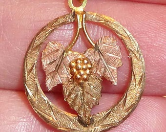 Black Hills Solid Gold Pendant ~ Beautiful