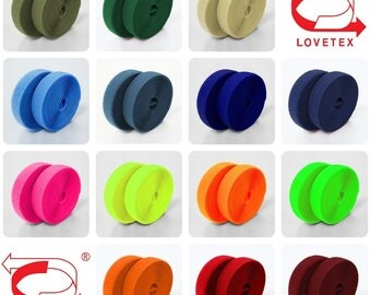 4 inch (102mm) Colorful Sew on Velcro Hook and Loop Fastener Tape