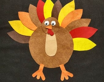 Thanksgiving Turkey Felt board set