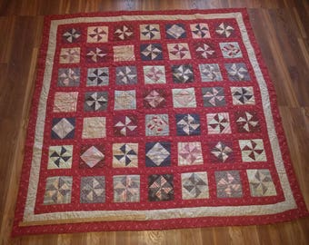 Collection of vintage 1950 quilts