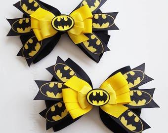 Batman Inspired Bows