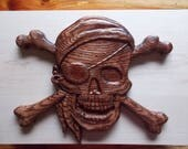 Pirate Decor, Wooden Pira...