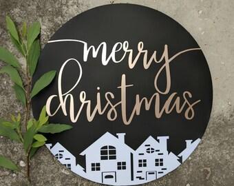 Merry Christmas Sign, Christmas Sign, Christmas Home Decoration, Christmas Decoration, Christmas Decor, Happy Holidays, Merry Christmas