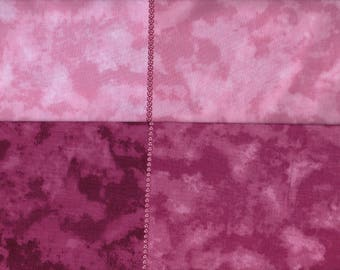 Shade Cascade Quilt Fabric - 4 Tones of Magenta in 1 Piece - Magenta Gradients - Pink, Raspberry, Fuschia - Clearwater Fabrics - OOP - BTHY