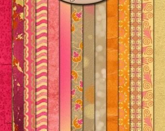Digital Scrapbooking, Paper, Patterned: Girlilicious
