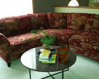 Elegant Curved Sectional Sofa