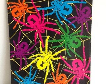 Vintage Lisa Frank BLOWOUTS Spider Portfolio Folder
