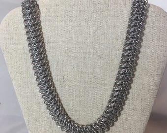 Dragonback Chainmaille Necklace